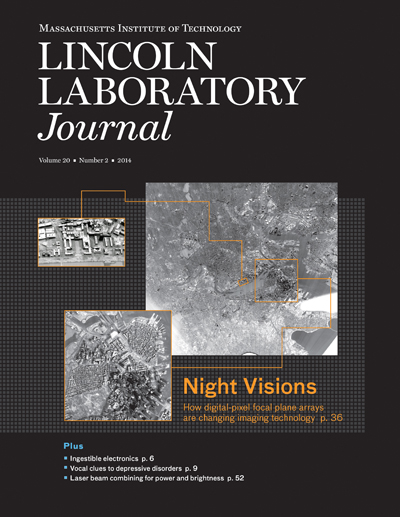 Lincoln Laboratory Journal - Volume 20, Number 2