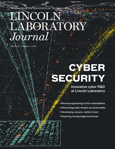 Lincoln Laboratory Journal - Volume 22, Number 1