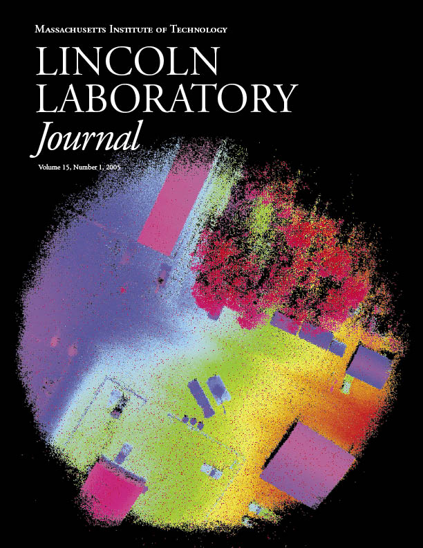 Lincoln Laboratory Journal #15 Issue 1 Cover - Image of Lidar