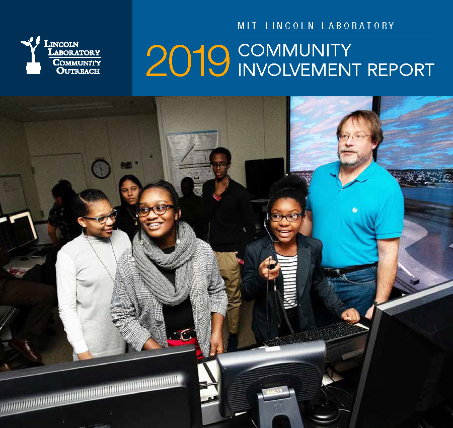 2019 Community Involvement Report Cover