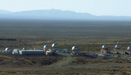 The Experimental Test Site is located in the desert outside Socorro, New Mexico.