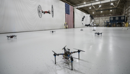 The ASDF is used by many groups at the Laboratory to test prototype autonomous systems.
