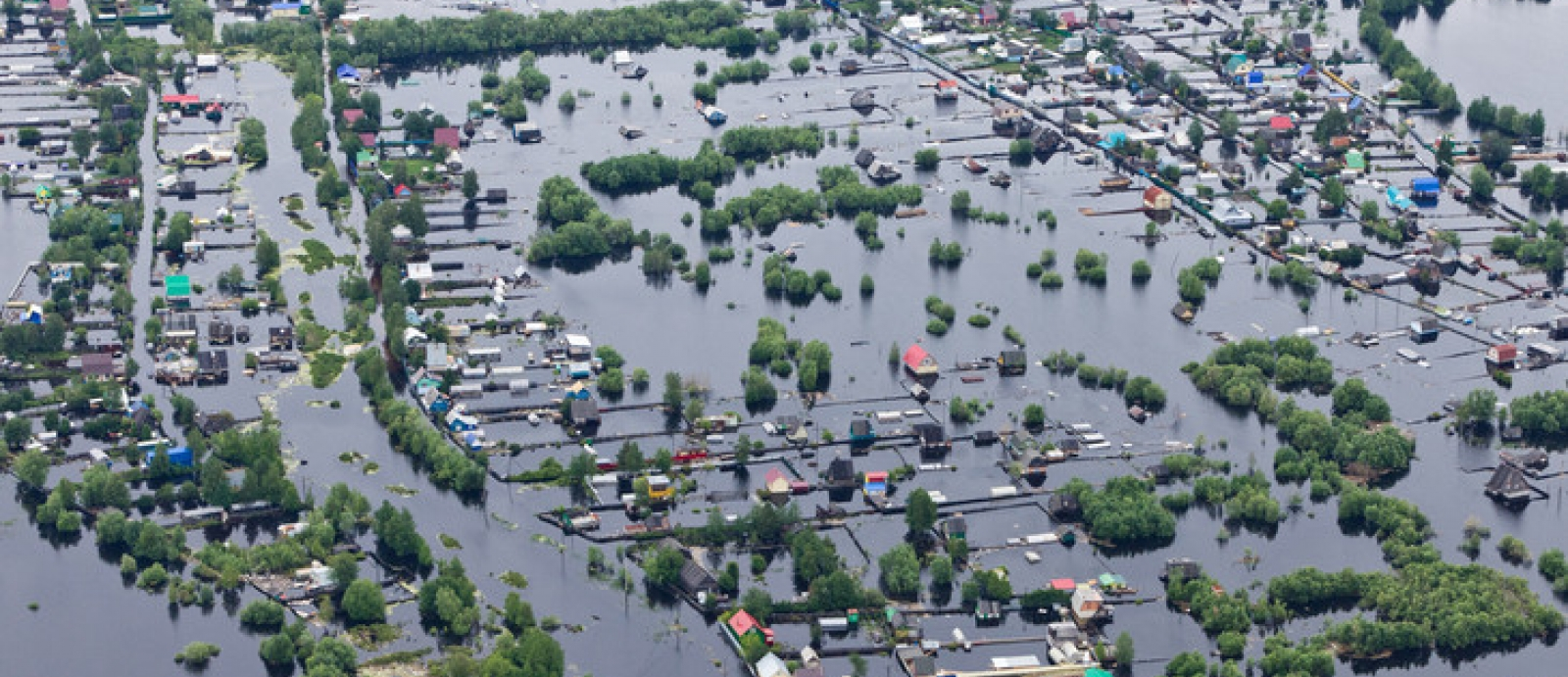 Students in the College of Information Sciences and Technology have developed a computer model that could help classify images of disaster scenes, such as a flood, to aid emergency response. Image: Vladimir Melnikov - Adobe Stock