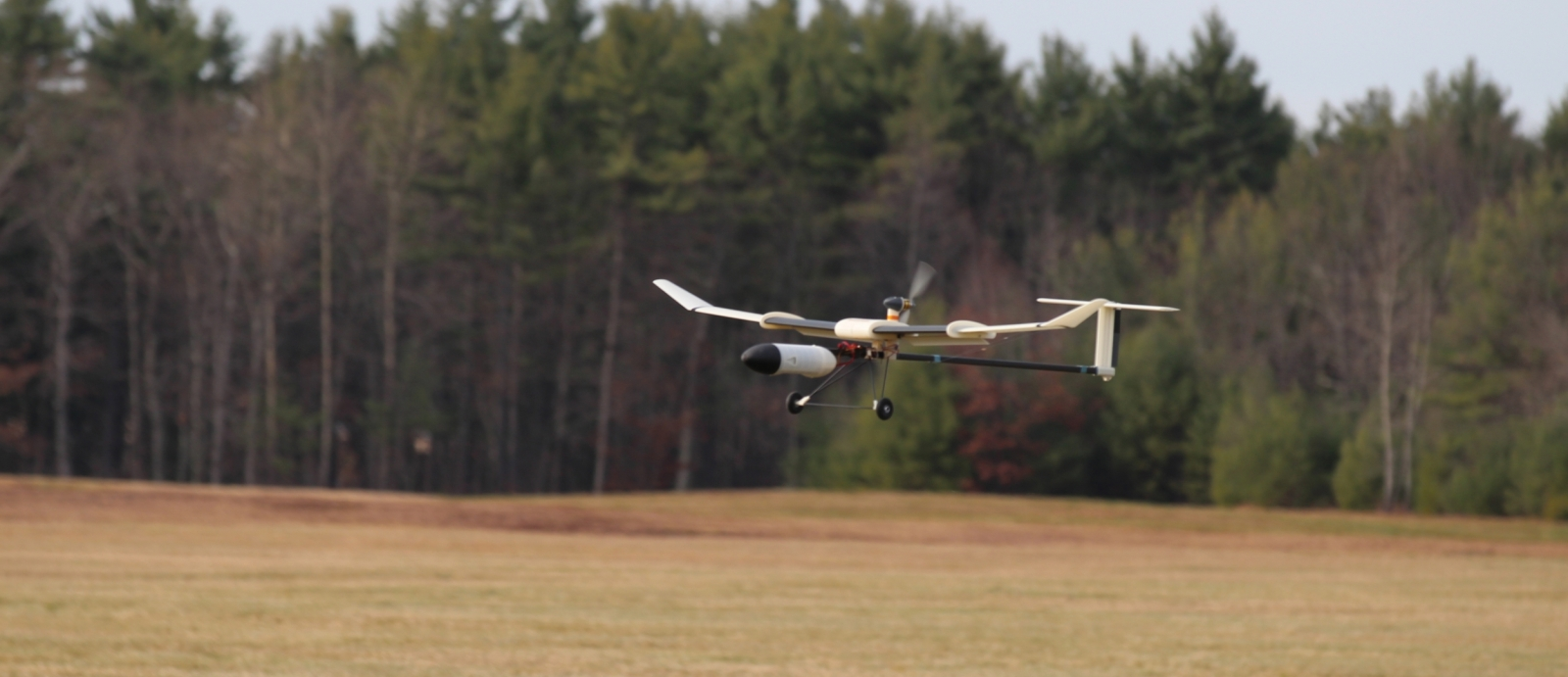 The Variable Airspeed Telescoping wing Additive manufactured Unmanned Aerial Vehicle (VAST AUAV).