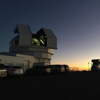 LINEAR The Space Surveillance Telescope was located at North Oscura Peak on the White Sands Missile Range in New Mexico until 2017 and is currently being relocated to Australia.
