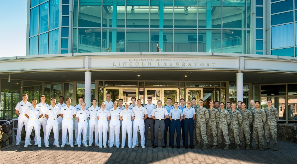Cadets and midshipman participate in the Military Fellows Program.