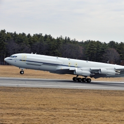 The refurbished Lincoln Laboratory Boeing 707 has been a mainstay of many important R&D programs since 1991.