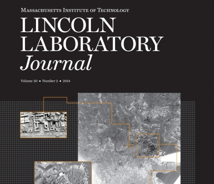 Lincoln Laboratory Journal Volume 20, Number 2