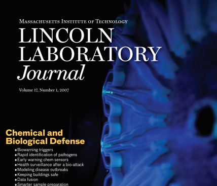 Lincoln Laboratory Journal #17 Issue 1 Cover