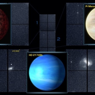 NASA's Transiting Exoplanet Survey Satellite (TESS) has found three confirmed exoplanets in the data from the space telescope's four cameras. Photo: NASA/MIT/TESS
