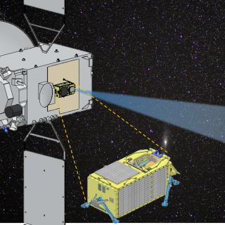 Deployed into the geosynchronous belt, the Japanese satellite QZSS, which carries an optical payload (QZSS-HP) developed by Lincoln Laboratory, will monitor objects in that region of space.
