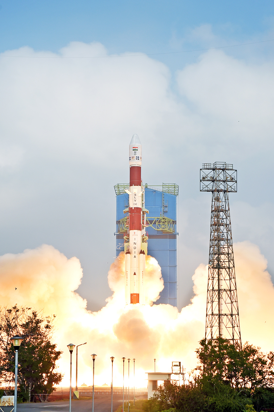 Photo of the Polar Satellite Launch is pictured.