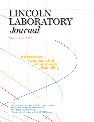 Lincoln Laboratory Journal - Volume 18, Number 2