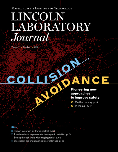 Lincoln Laboratory Journal - Volume 19, Number 1