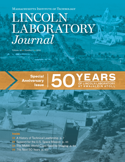 Lincoln Laboratory Journal - Volume 19, Number 2