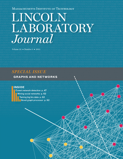 Lincoln Laboratory Journal - Volume 20, Number 1