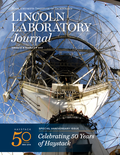 Lincoln Laboratory Journal - Volume 21, Number 1
