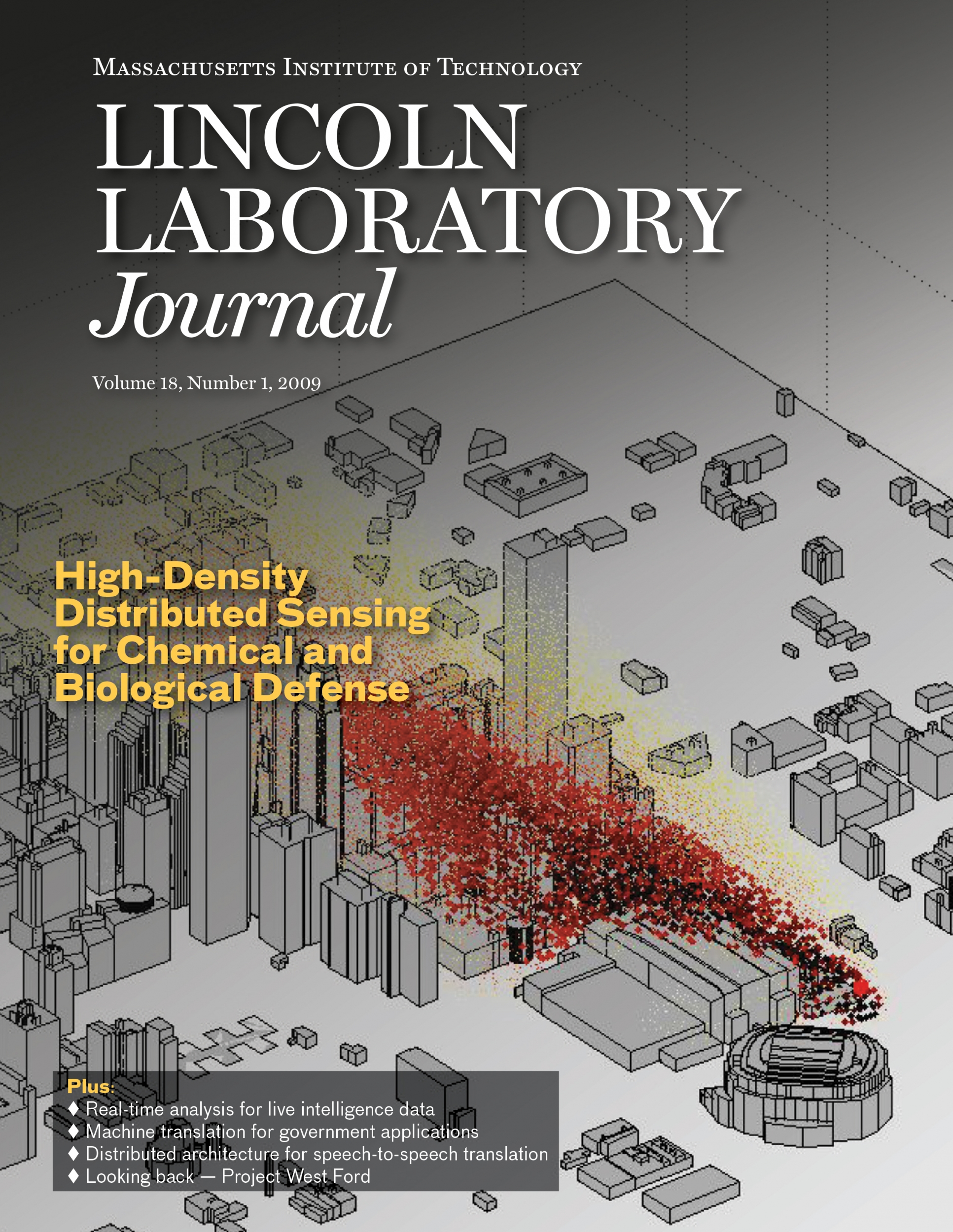 Lincoln Laboratory Journal Volume 18, Number 1