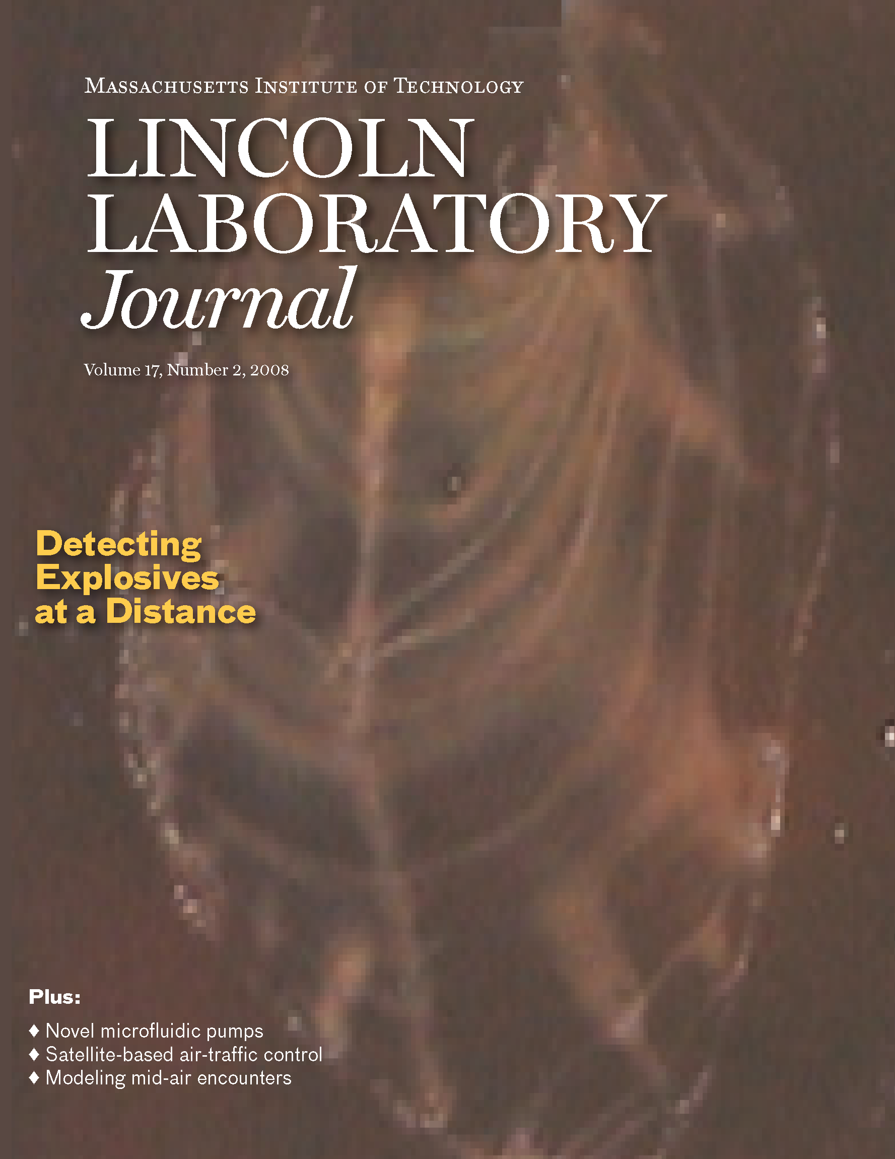 Lincoln Laboratory Journal #17 Issue 2 Cover