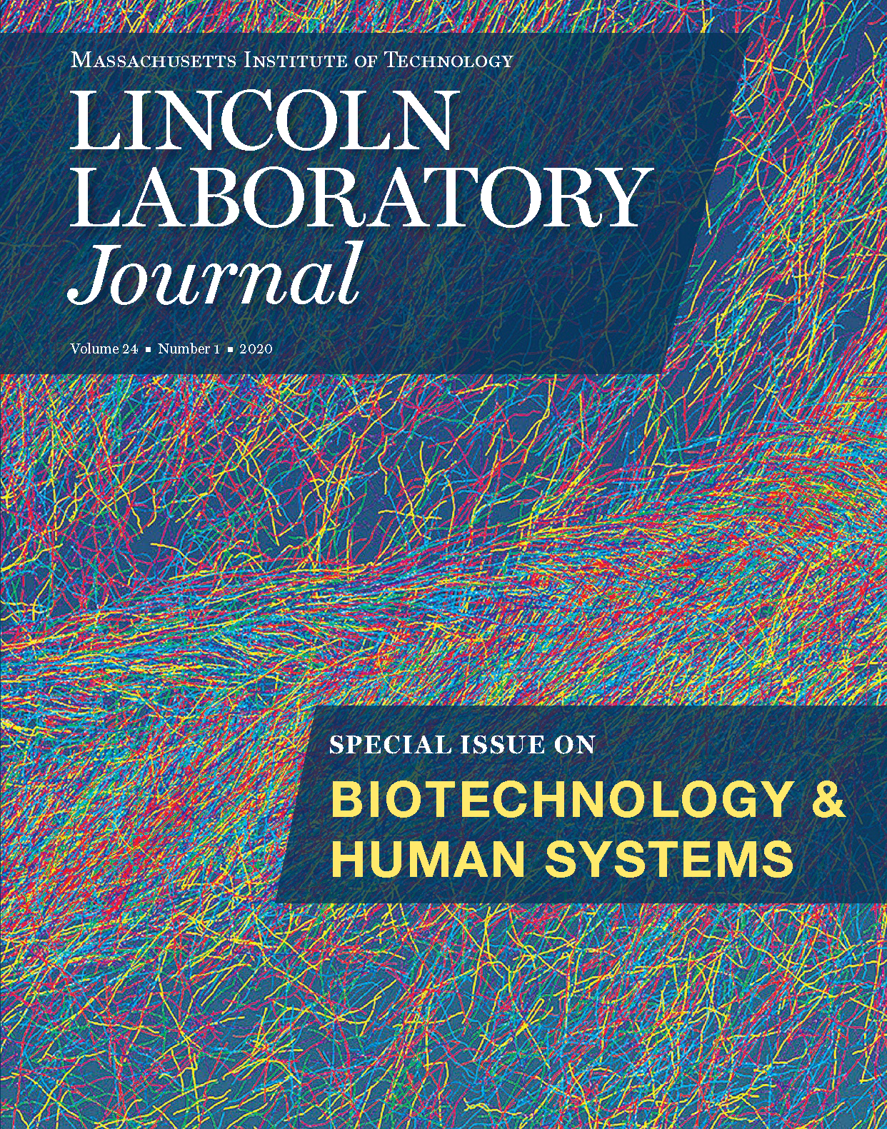 Lincoln Laboratory Volume 24 Number 1 Cover