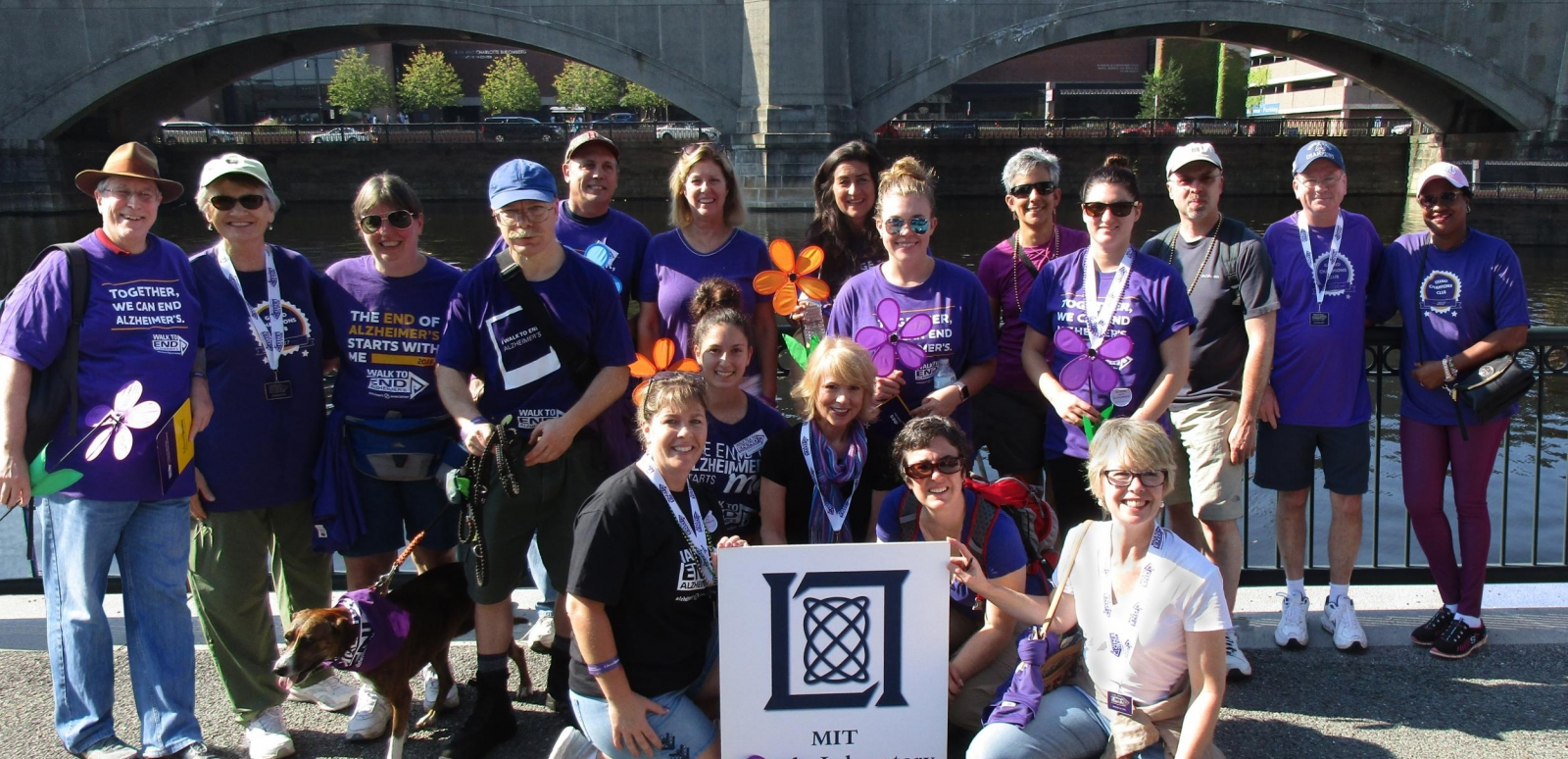 Since 2009 the Lincoln Laboratory Alzheimer Support Community has raised $235,000 and has consistently ranked among the top five teams in the region during the Greater Boston Walk to End Alzheimer's.