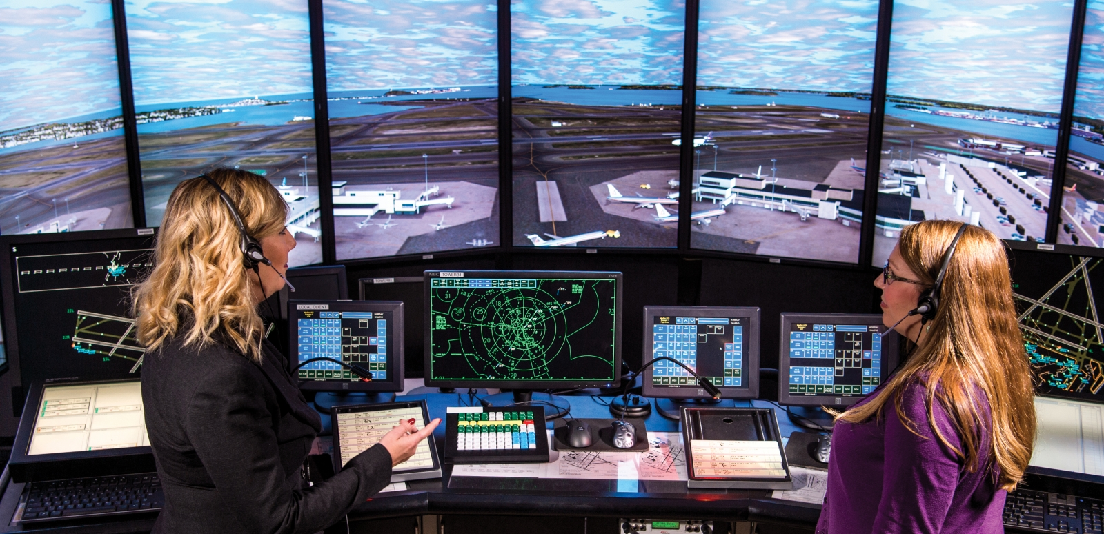 Air Traffic Control - Since 1971, we have been supporting the Federal Aviation Administration in the development of new technology for air traffic control.