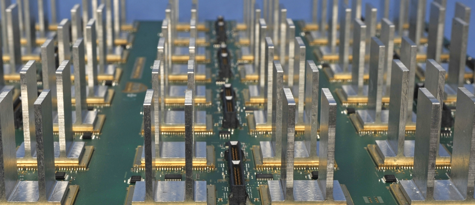 Multifunction Phased Array Radar antenna panel backplane.