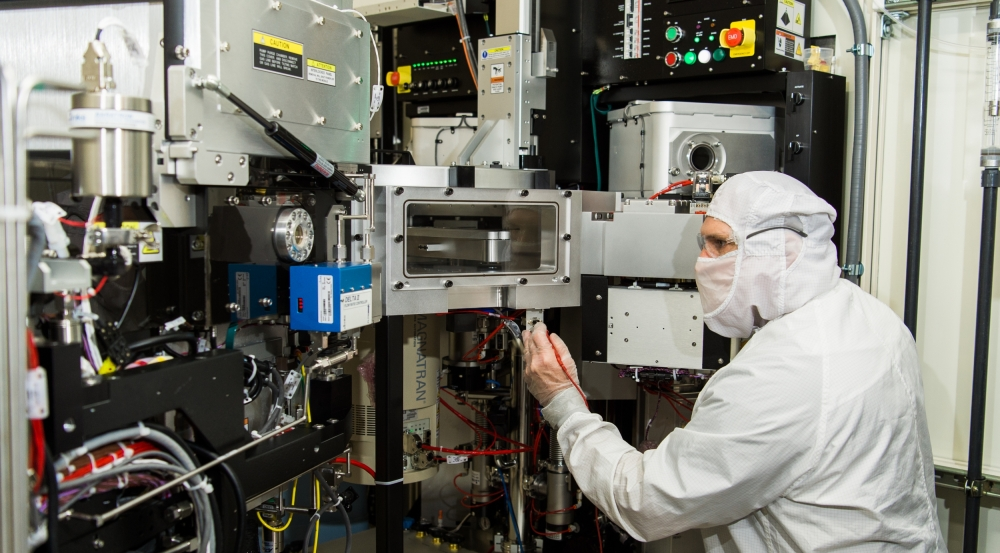 Staff in the Electronic-Photonic Integration Facility fabricate components, circuits, and subsystems for both internal and external partners.