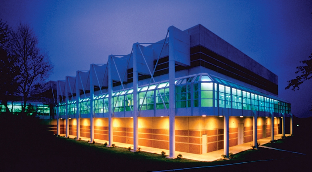 The Microelectronics Laboratory covers 70,000 square feet.