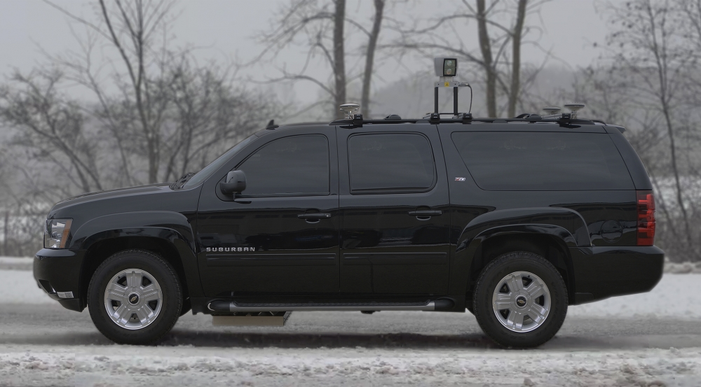 The MIT Lincoln Laboratory Localizing Ground-Penetrating Radar (LGPR) demonstrated centimeter-level localization on snow-covered roads during daytime and nighttime snowstorms.