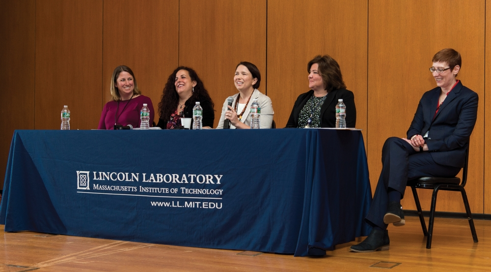LLWN hosted a panel discussion in celebration of Women's History Month, during which members shared their experiences transitioning to management roles in fields that are predominantly led by men and discussed ways to address workplace inequality.