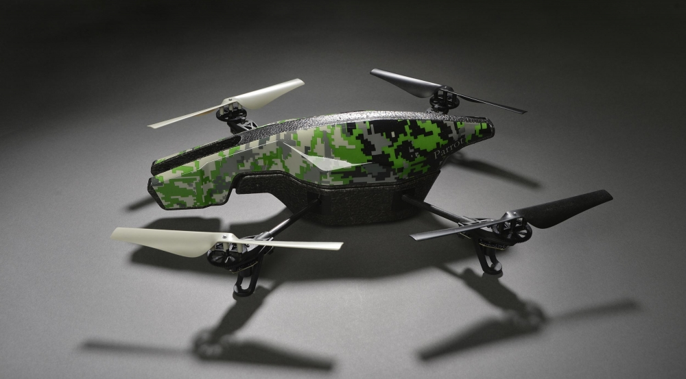 Commercial unmanned aerial systems, like the one pictured above, are increasingly flown in urban areas; if used for illicit purposes, they can pose dangers to civilians.