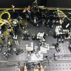 The high-rate, entangled-photon source technologies will be integrated into the optical fiber quantum network test bed.