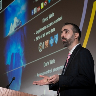 Charlie Dagli discusses tools to search and analyze dark web data