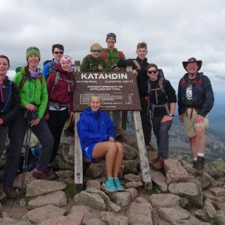 When not pursuing STEM activities, Venture Crew 1775 enjoys monthly outdoor activities, like hiking Mount Katahdin.