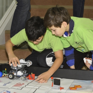 We sponsor all age levels of robotics teams as they explore programming, robotics, and science and technology concepts.