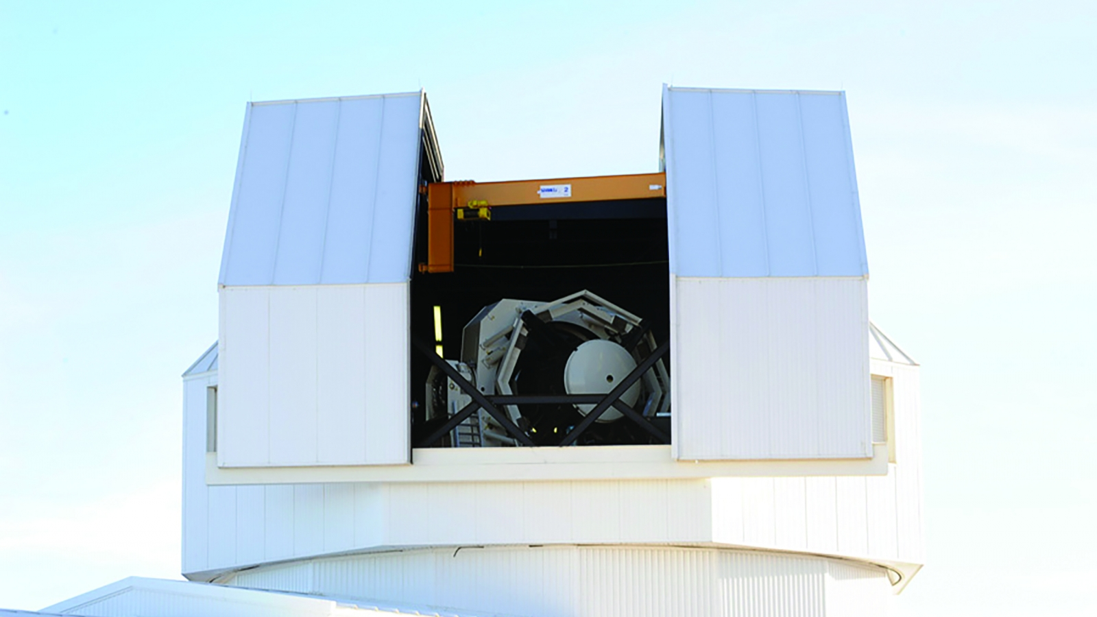 The SST awaits nightfall to be tasked with scanning space from its location atop the Atom Site, a high-altitude observation point in New Mexico that provides a view of the sky that is virtually untouched by light pollution.