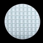 Photo of a wafer that has phase change pixels