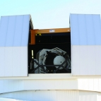 An image of the telescope of the SST